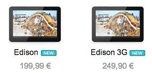 Precio bq Edison